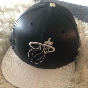 Miami Heat fitted hat 7 3/8